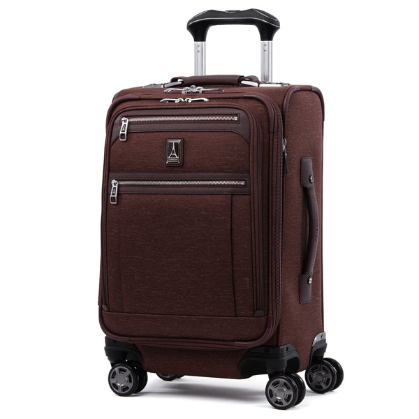 Travelpro Platinum Elite 20 Inch Expandable Business Plus Carry-On Spinner - Bordeaux
