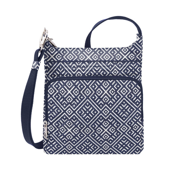 Travelon Anti-Theft Heritage Small Crossbody Bag - Mosaic Tile