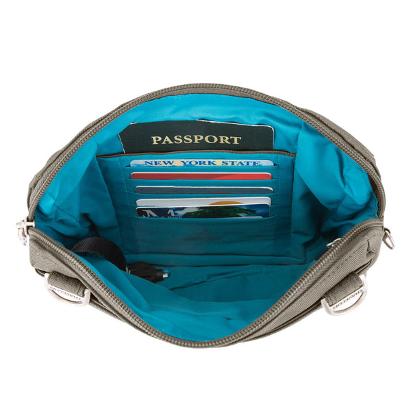 Travelon Anti-Theft Classic Convertible Crossbody & Waist Pack
