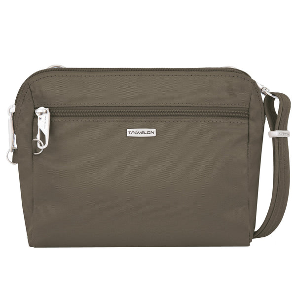 Travelon Anti-Theft Classic Convertible Crossbody & Waist Pack - Nutmeg