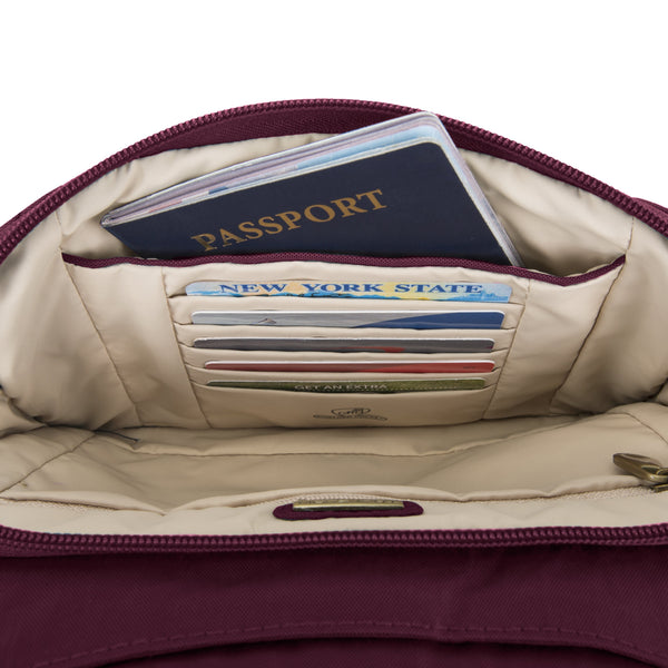 Travelon Anti-Theft Signature Quilted E/W Slim Bag