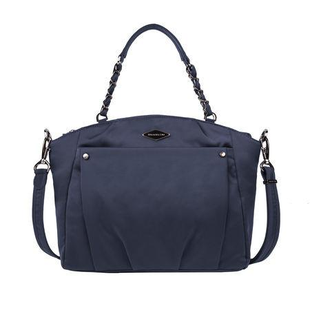Travelon Anti-Theft Parkview Satchel Crossbody Bag - Navy