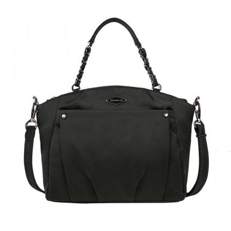 Travelon Anti-Theft Parkview Satchel Crossbody Bag - Black