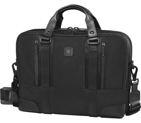 Victorinox Lexicon Professional LaSalle 13 Slimline Brief for 13 Inch Laptop - Black