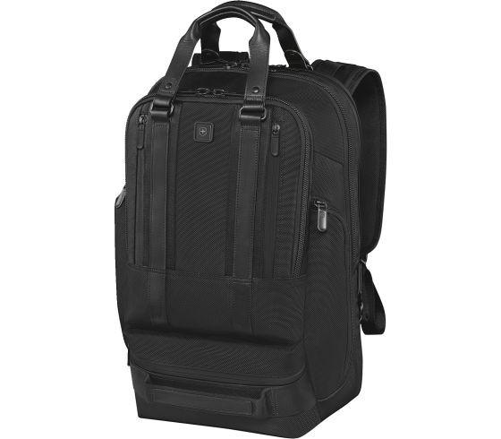 Victorinox Lexicon Professional Bellevue 17 Business Backpack with 17 Inch Laptop Pocket - Black
