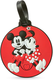 American Tourister Disney Luggage ID Tag - Mickey/Minnie Kiss