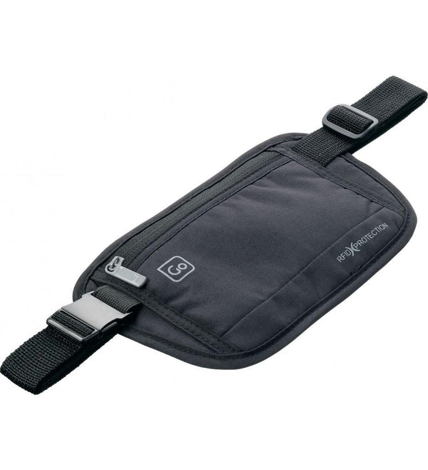 Go Travel RFID Secure Money Belt - Black