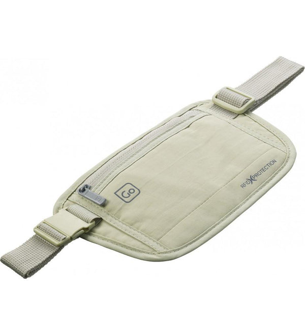 Go Travel RFID Secure Money Belt - Beige