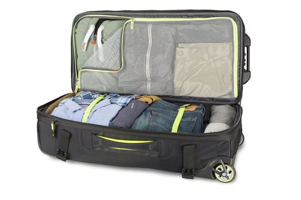 High Sierra AT 8 Travel Collection - 32  Inch Wheeled Duffle Upright
