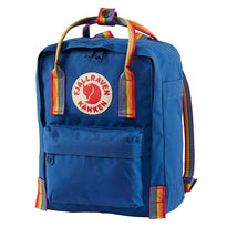 Fjallraven Kanken Rainbow Mini Backpack - Deep Blue-Rainbow Pattern
