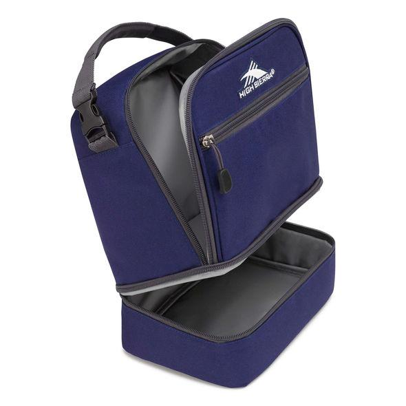 High Sierra Stacked Compartment Lunch Bag - True Navy/Mercury