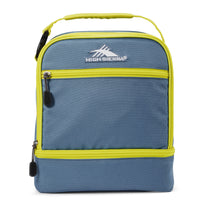 High Sierra Stacked Compartment Lunch Bag - Graphite Blue/Glow