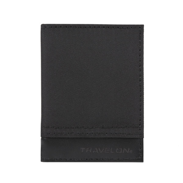 Travelon RFID Blocking Classic Card Case - Black