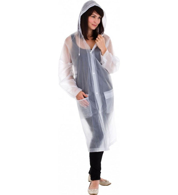 Go Travel Raincoat - Clear