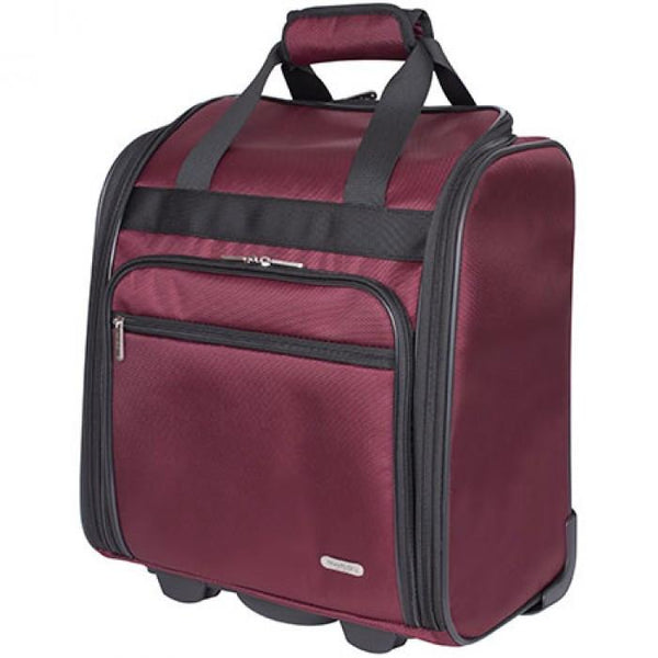 "Travelon 15"" Wheeled Underseat Carry On Bag"