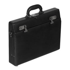 Mancini BUSINESS Slim Leather Attache Case