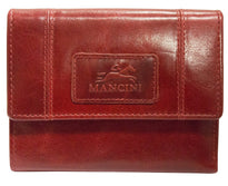 Mancini CASABLANCA Ladies' RFID Secure Small Clutch Wallet