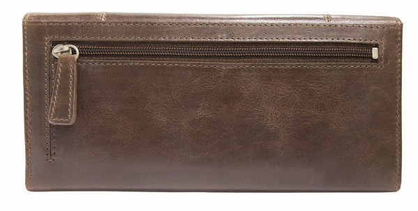 Mancini CASABLANCA Ladies' RFID Secure Trifold Wallet