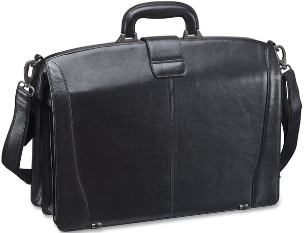 Mancini VANIZIA Collection Laptop Compatible Litigator Briefcase with RFID Secure Pocket