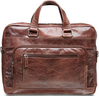 Mancini BRIDGE Single Compartment 15.6'' Laptop / Tablet Briefcase