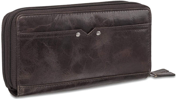 Mancini BRIDGE Ladies' RFID Secure Medium Clutch Wallet