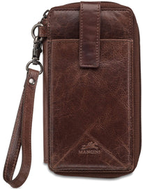 Mancini BRIDGE RFID Secure Cell Phone Wallet