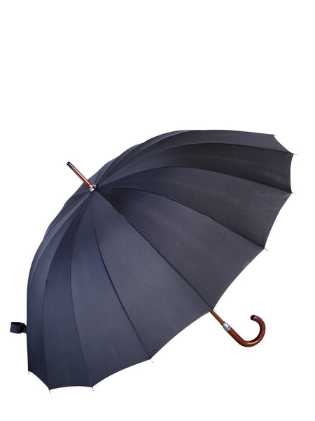 Belami Knirps 16 Panel Stick Umbrella Wooden Handle and Shaft