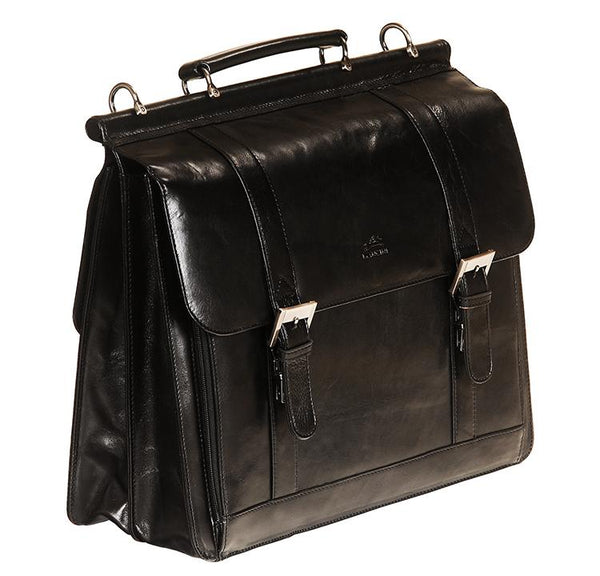 Mancini SIGNATURE Collection (Flap) Briefcase for Laptop and Tablet