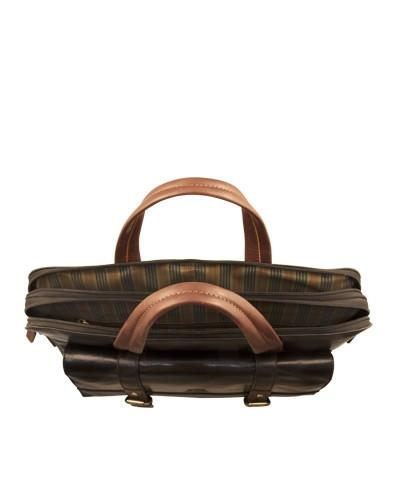 Mancini CALABRIA Collection Double Compartment Tote for Laptop