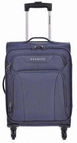 Renwick 20 Inch Lightweight Spinner Luggage Carry-On Luggage - Navy