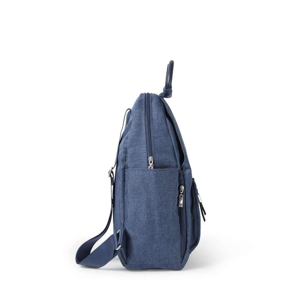 Baggallini All Day Backpack With RFID Phone Wristlet