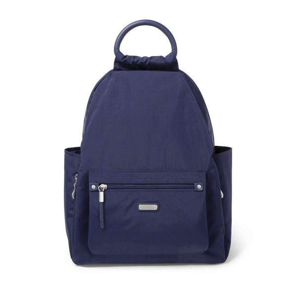 Baggallini All Day Backpack With RFID Phone Wristlet - Navy