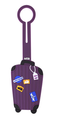 Austin House Classic Luggage Tag - Travel Stickers
