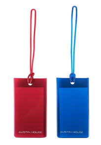Austin House Pack of 2 Classic Luggage Tags