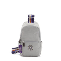 Kipling Sashi Sling Backpack - Grey Ripstop
