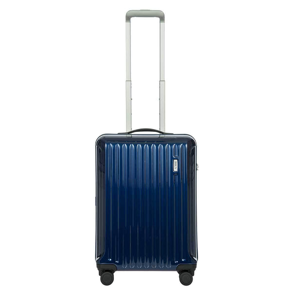 Bric's Riccione 21 Inch Carry-On Spinner Luggage - Blue