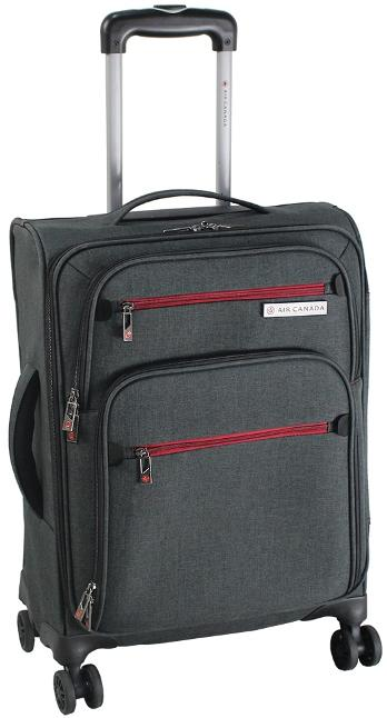 Air Canada 3 piece Expandable Spinner Luggage Set