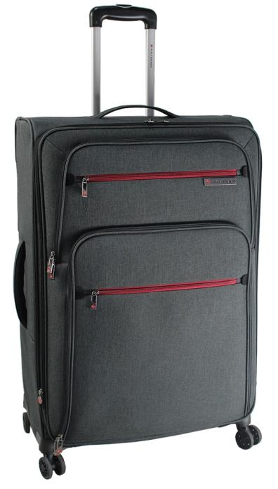 Air Canada 28 Inch Expandable Spinner Luggage - Grey