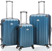 Jetstream 3 Piece Hardside 360 Degree Spinner Luggage Set