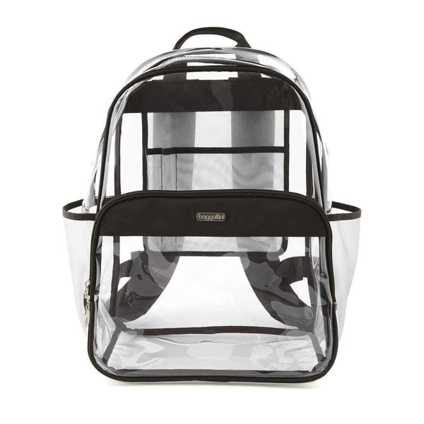 Baggallini Clear Event Compliant Large Backpack - Black