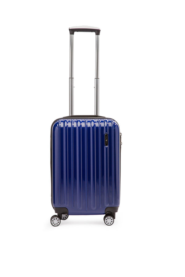Explorer Classic Collection 20 inch Expandable Spinner Carry-On Luggage - Blue