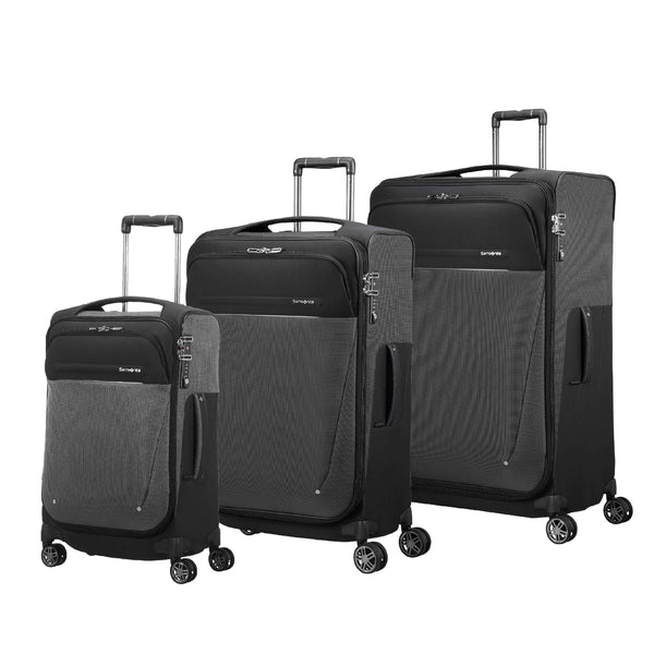 Samsonite B-Lite Icon 3 Piece Spinner Expandable Luggage Set - Black