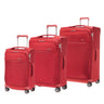 Samsonite B-Lite Icon 3 Piece Spinner Expandable Luggage Set - Red