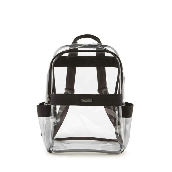 Baggallini Clear Event Compliant Medium Backpack - Black