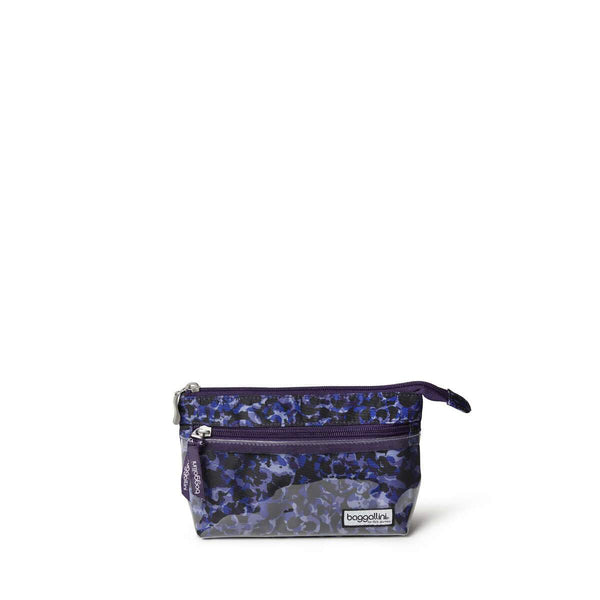 Baggallini Cosmetic Pouch - Abstract Bloom