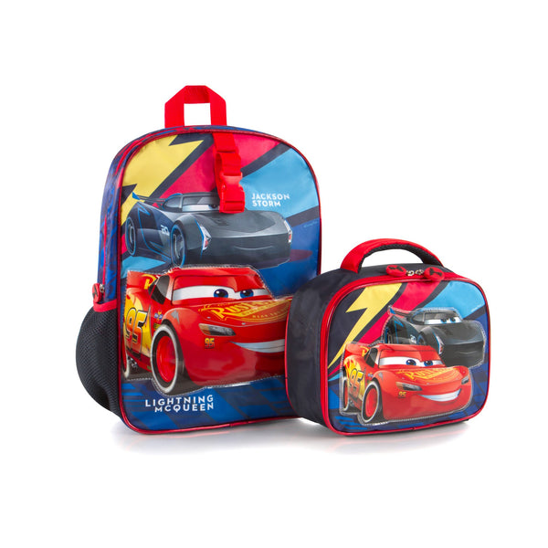 361665d1899c Heys Disney Backpack with Lunch Bag - Cars - Canada Luggage Depot