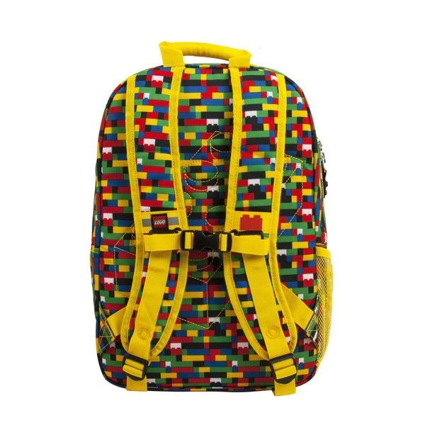 0822ba9a5a LEGO Brick Red Blue Eco Heritage Classic Backpack - Canada Luggage Depot