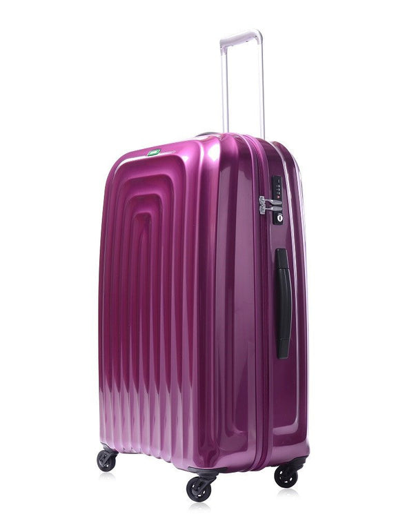 Lojel Wave 26 Inch Hardshell Spinner Upright Luggage