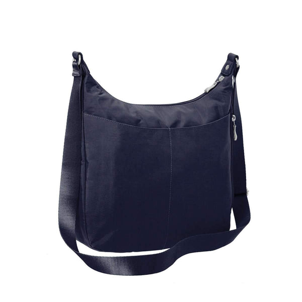 Baggallini Day Trip Hobo Bag With RFID Phone Wristlet