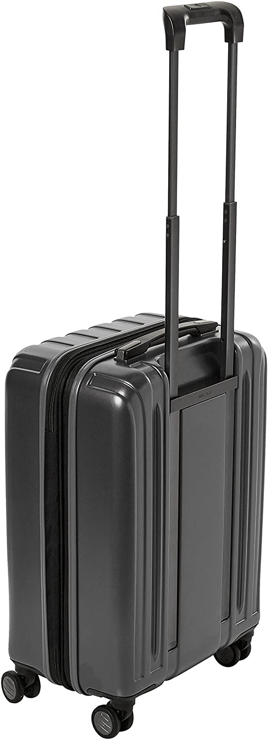 "Delsey Helium Titanium 19"" Carry-On Spinner Luggage"